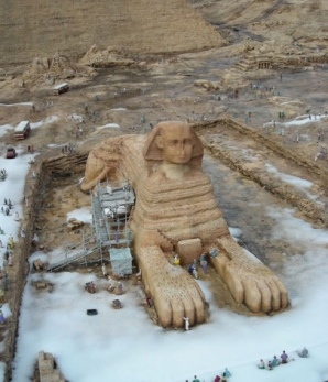 Snow on the Sphinx